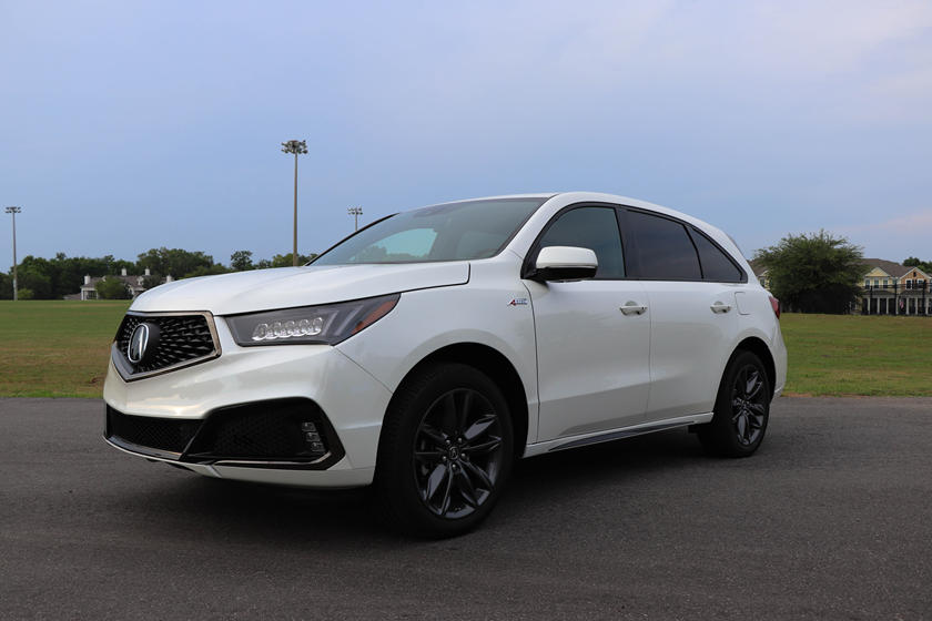 2020 Acura MDX front view