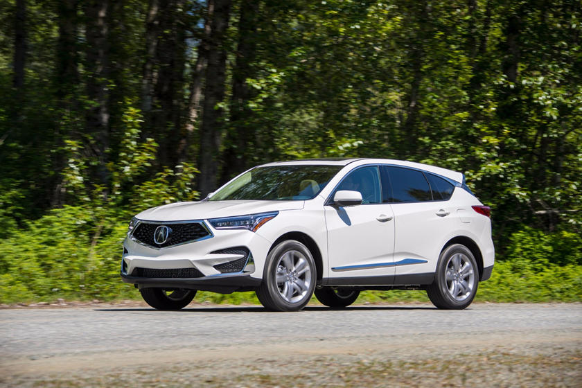 2019 Acura RDX Three-quarter Front View