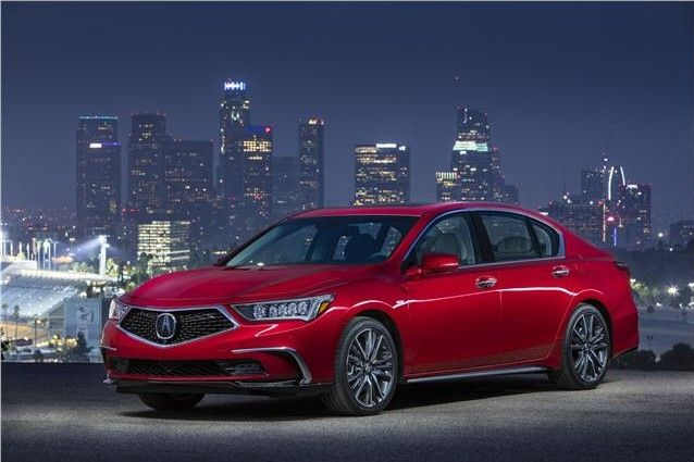 2020 Acura RLX three quarter view