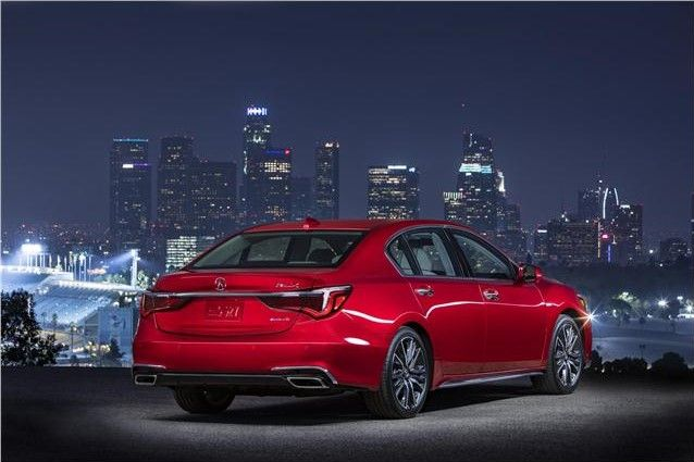 2020 Acura RLX rear view