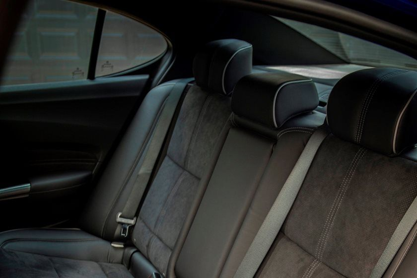 2020 Acura TLX rear seat