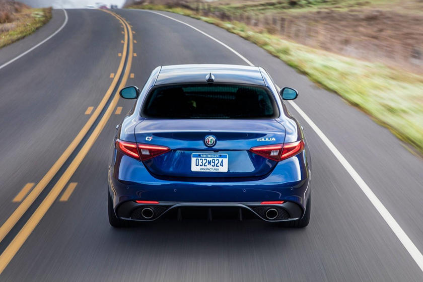 2019 Alfa Romeo Giulia rear view