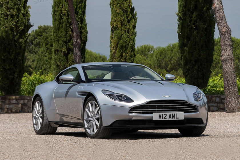 2020 Aston Martin DB11 Angular Front View