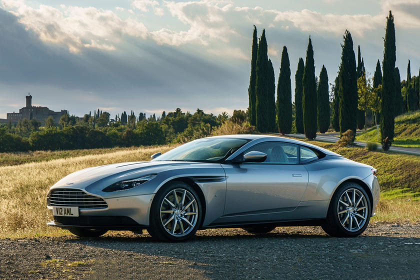 2020 Aston Martin DB11 Side View