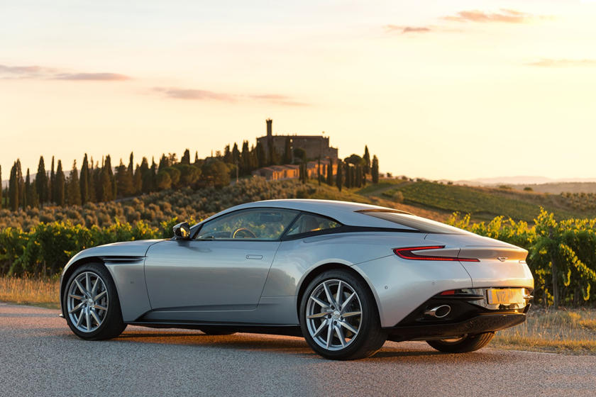 2020 Aston Martin DB11 Angula rearview