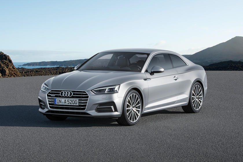 2020 Audi A5 Front View