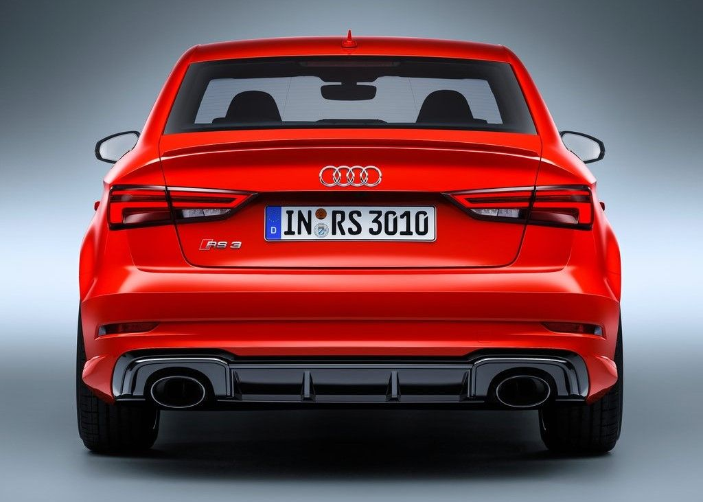 2020 Audi RS3 Sedan rear view