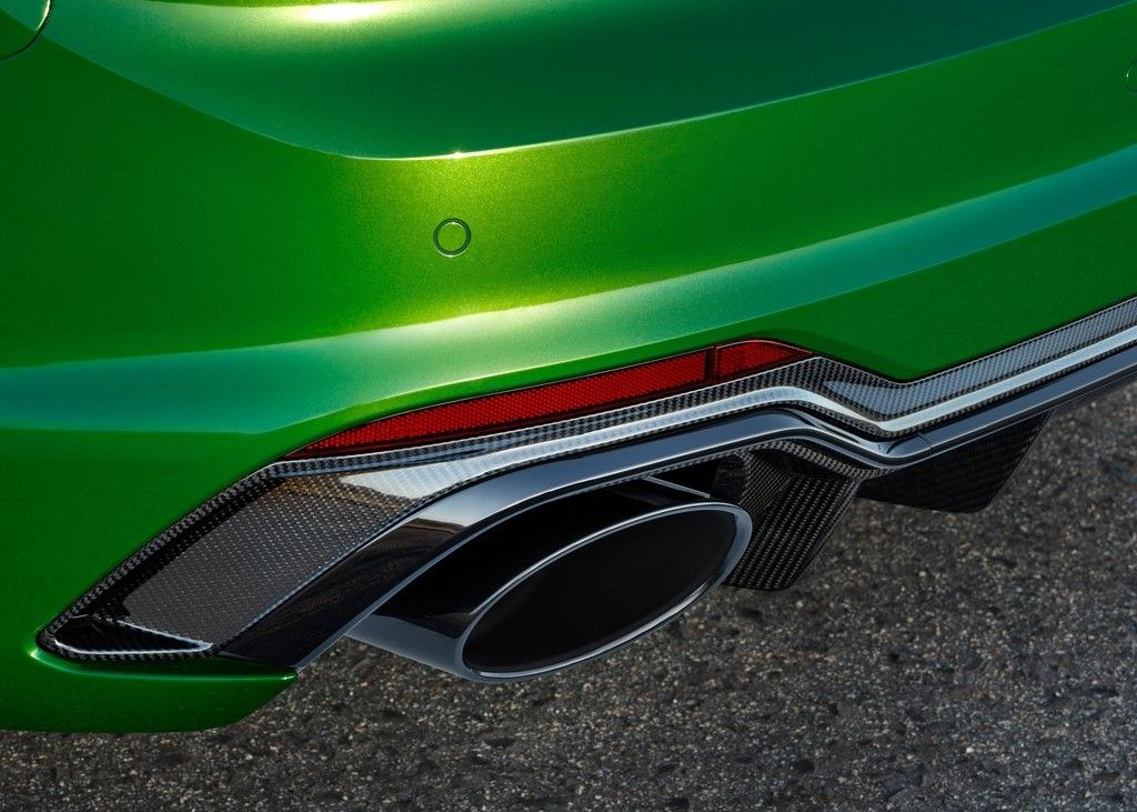 2019 Audi RS5 exhaust pipes