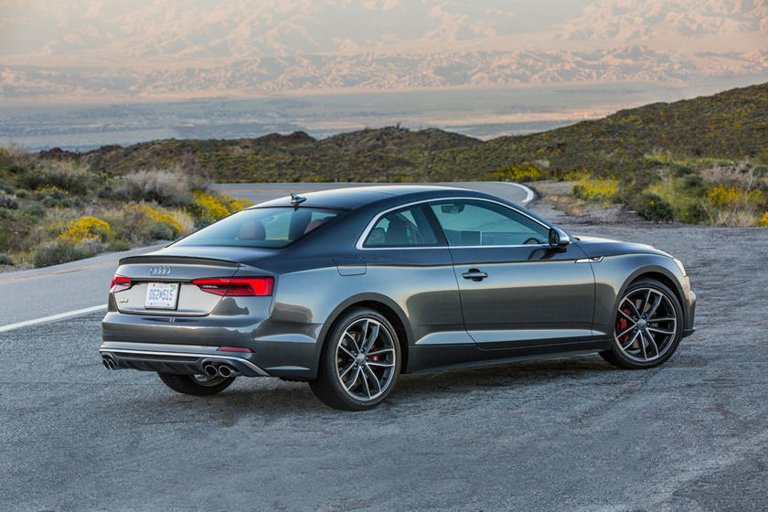 2019 Audi S5 Coupe rear view