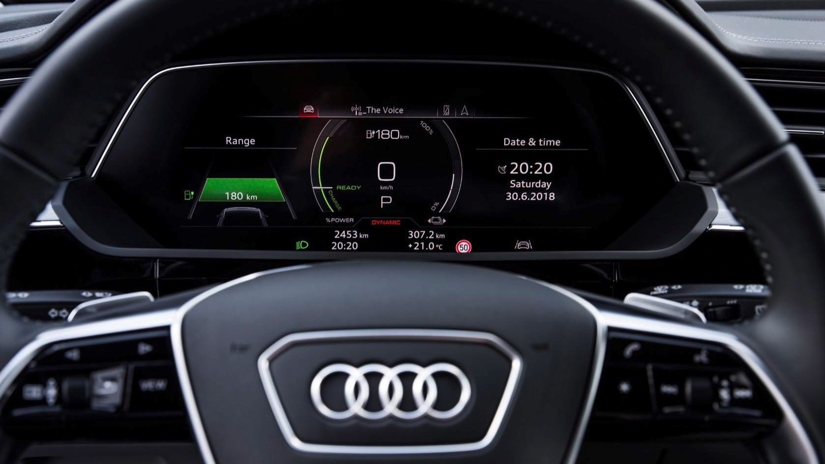 2020 Audi E-Tron Virtual Cockpit