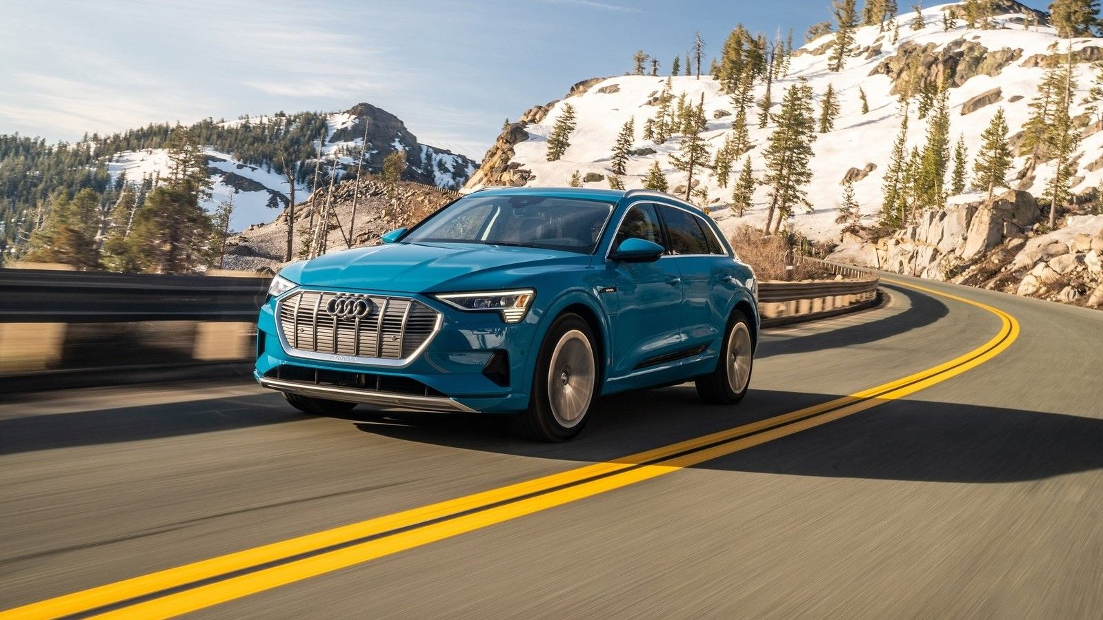 2020 Audi E-Tron Front Three-Quarter View