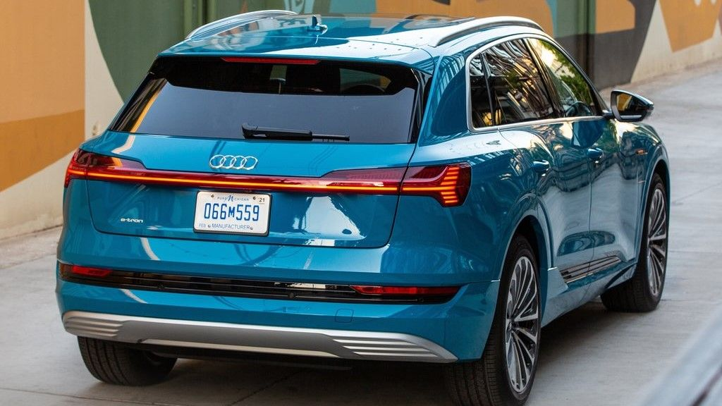 2020 Audi E-Tron Rear View