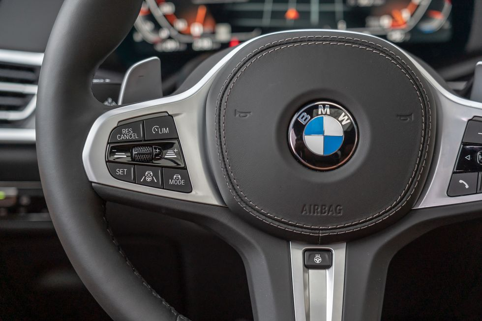 2021 BMW X7 Steering