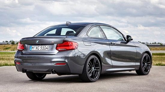 2020 BMW 2-Series Rear Three-Quarter View