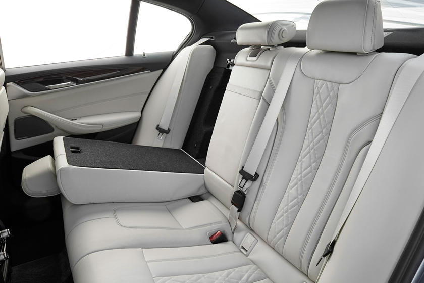 2020 BMW 5 series rear seat