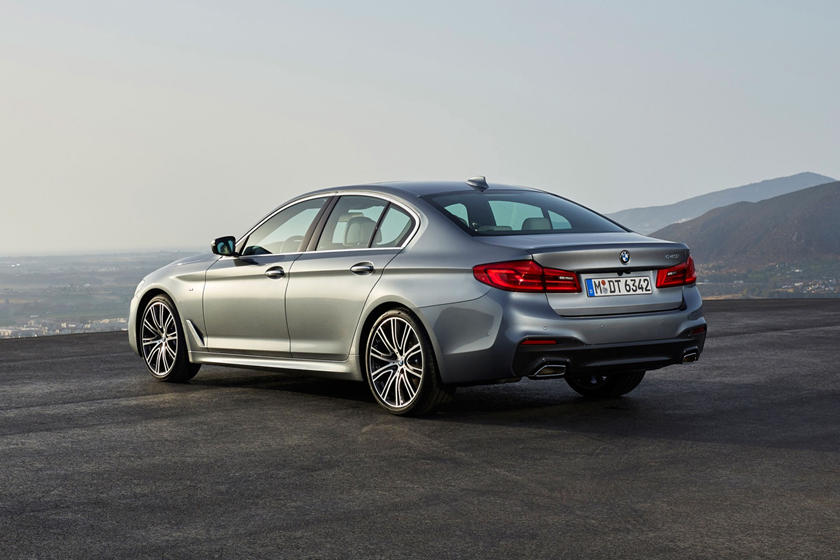 2020 BMW 5 series rear view