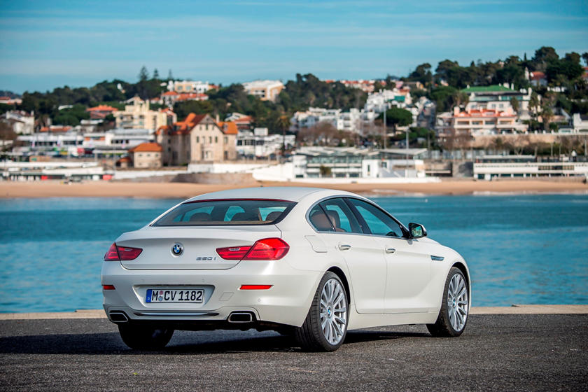 2019 BMW 6 Series Gran Coupe Rear View