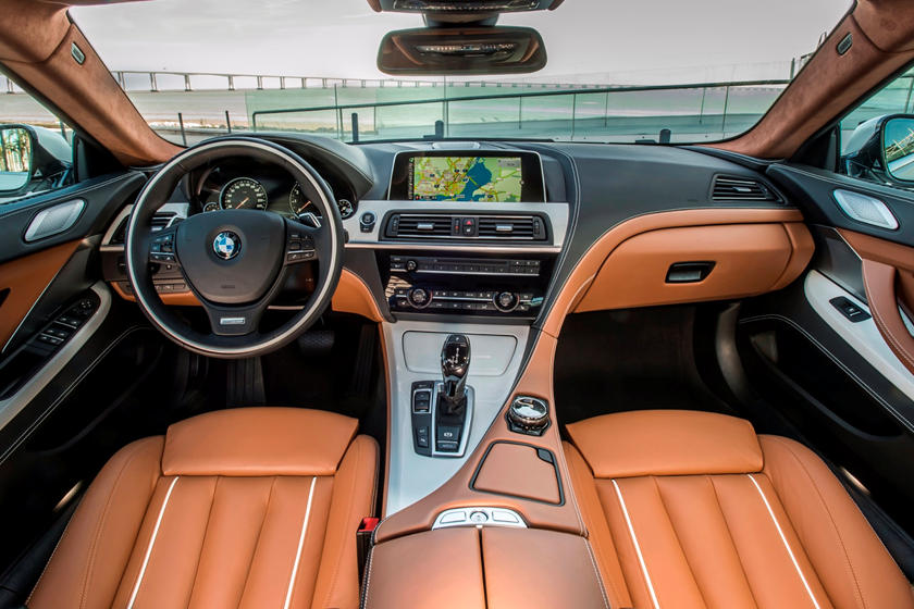 2019 BMW 6 Series Gran Coupe front seat