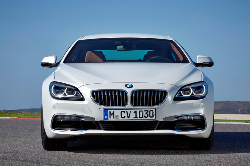2019 BMW 6 Series Gran Coupe front view