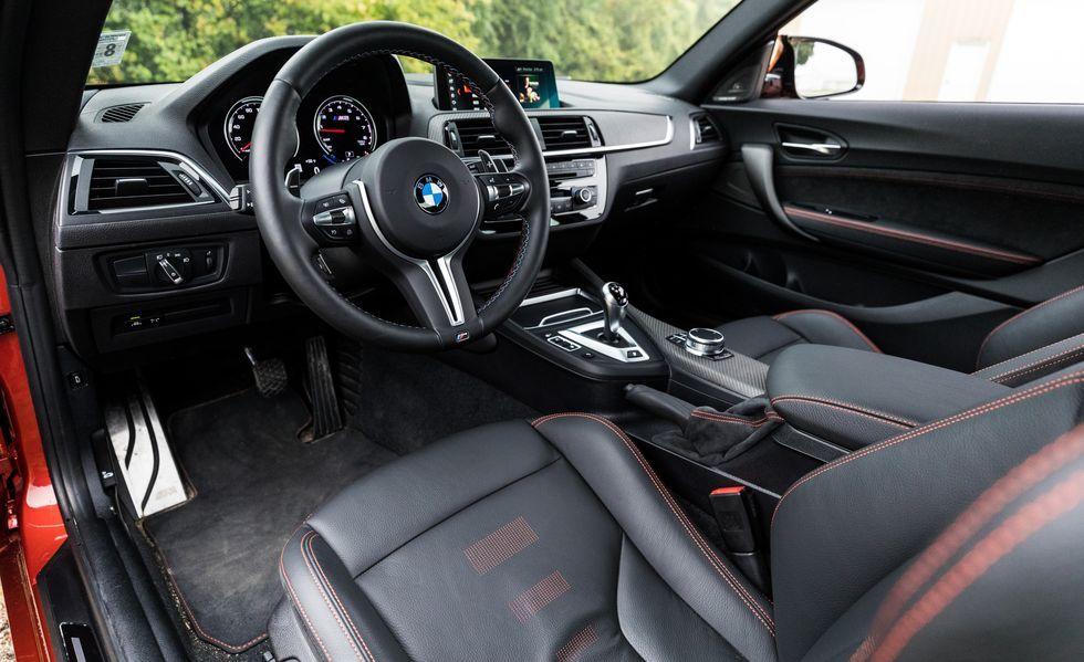 2019 BMW M2 front seat
