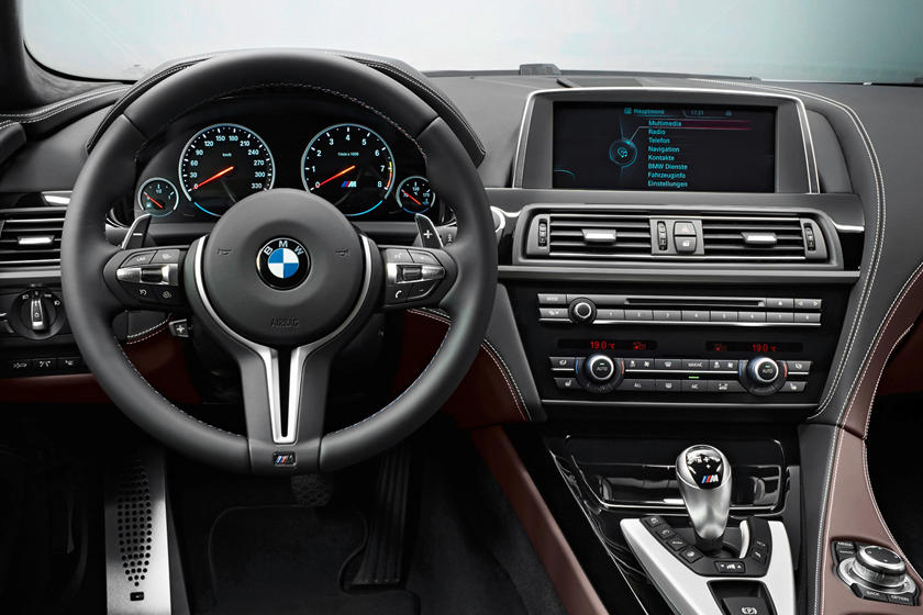 2020 BMW M6 Gran Coupe steering