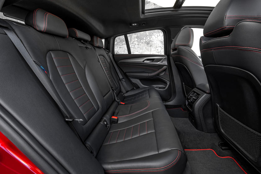 2020 BMW X4 Seating