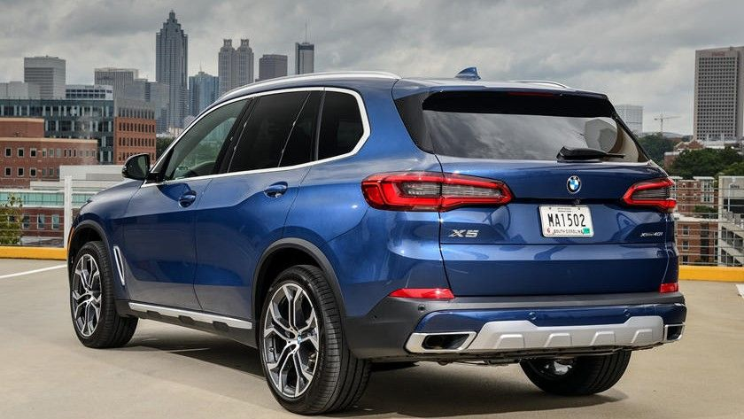 ​​2019 BMW X5 Rear View