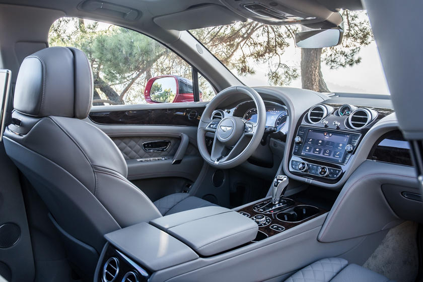 2019 Bentley Bentayga interior