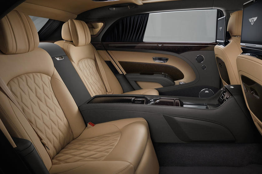 2020 Bentley Mulsanne rear seat