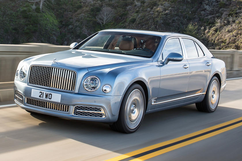 2020 Bentley Mulsanne front view
