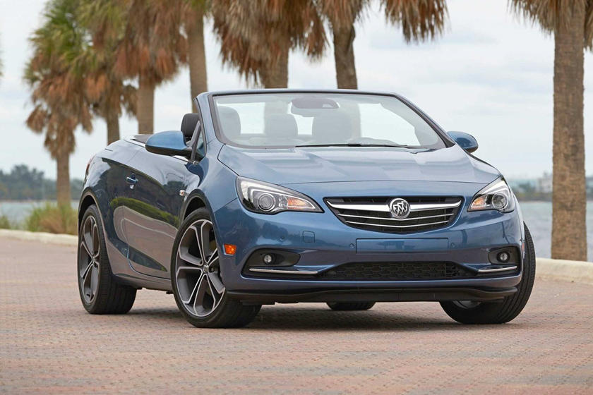 2019 Buick Cascada Angular Front View