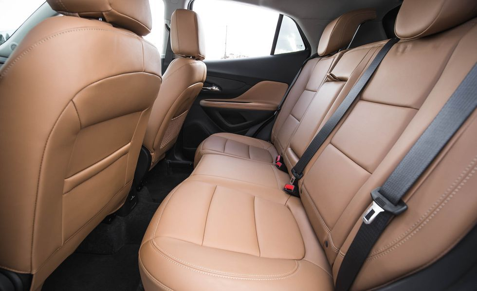 2020 Buick Encore rear seat