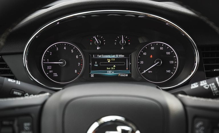 2020 Buick Encore instrumental cluster