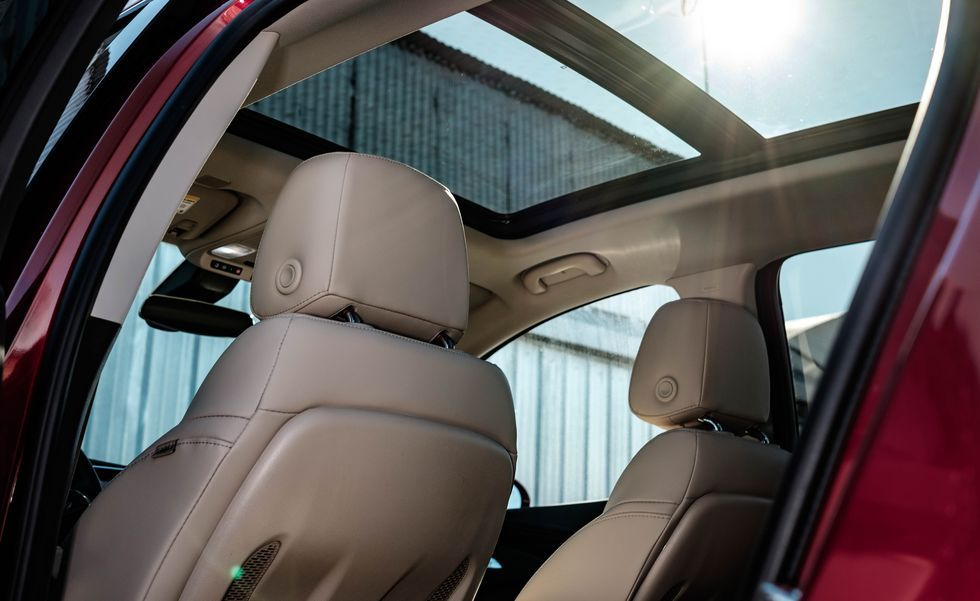 2020 Buick Envision sunroof