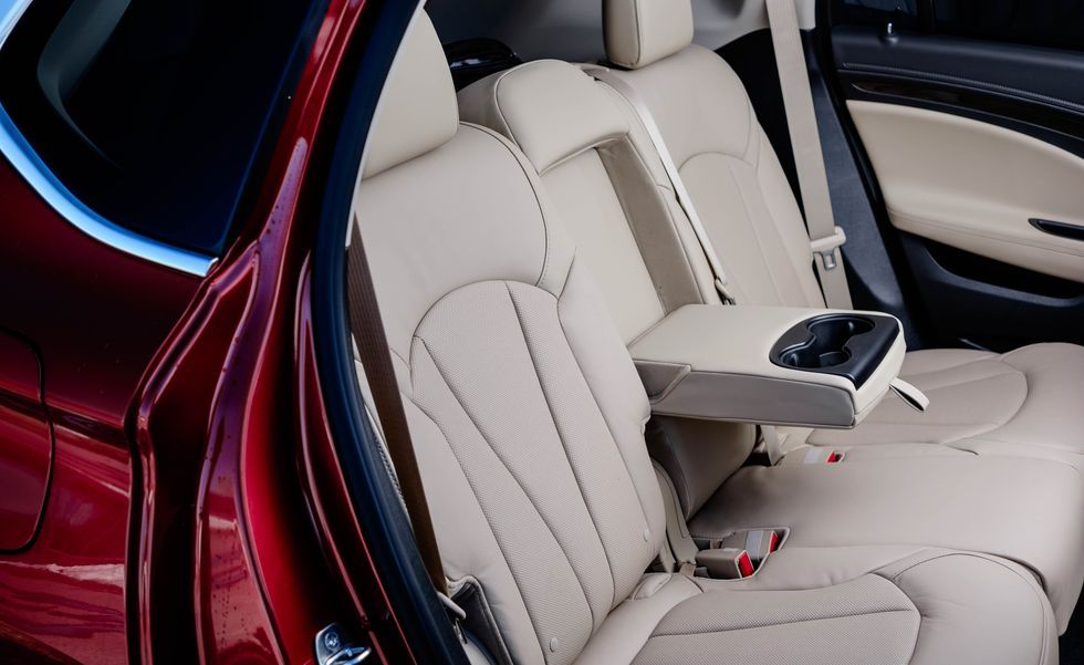 2020 Buick Envision rear seat
