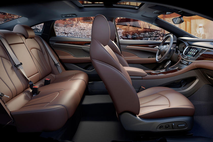 2020 Buick Lacrosse seating
