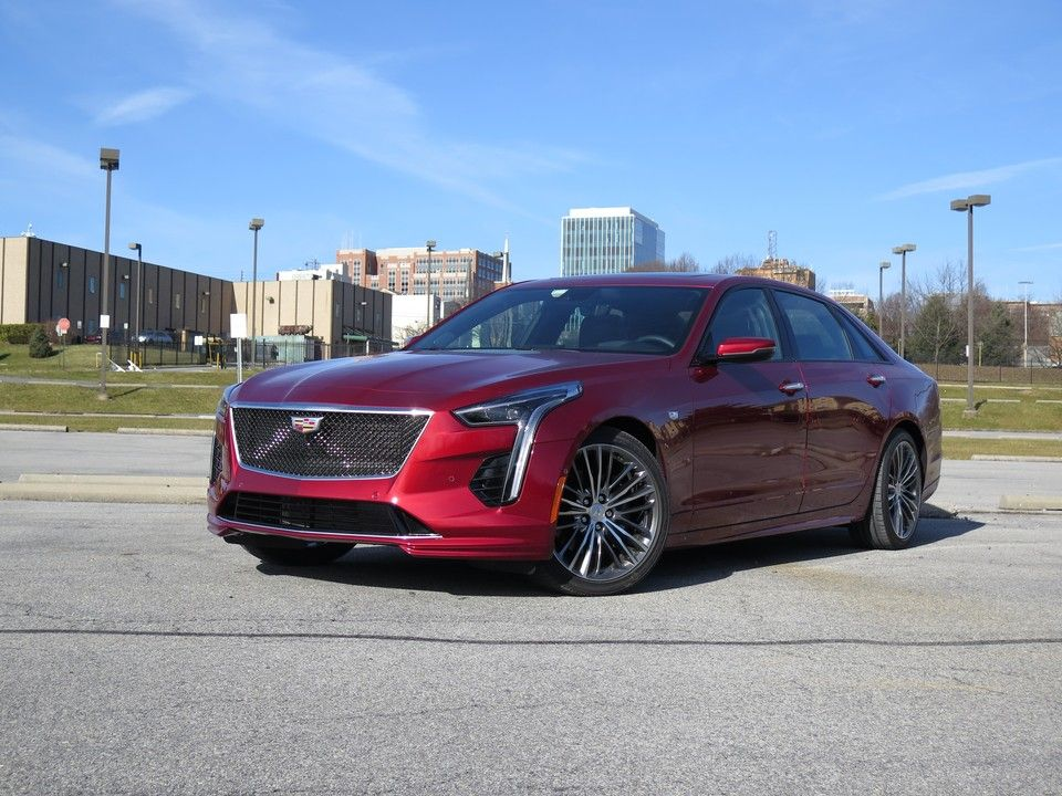 2020 Cadillac CT6 Angular Front View