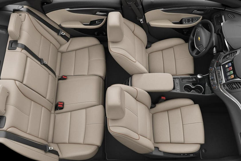 2020 Chevrolet Impala seating
