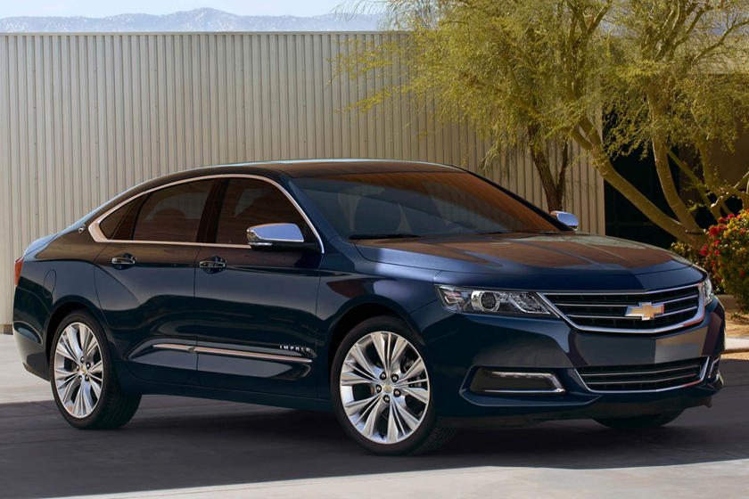 2020 Chevrolet Impala front view