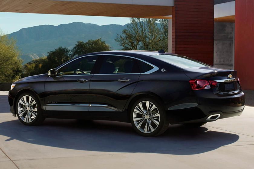 2020 Chevrolet Impala rear view