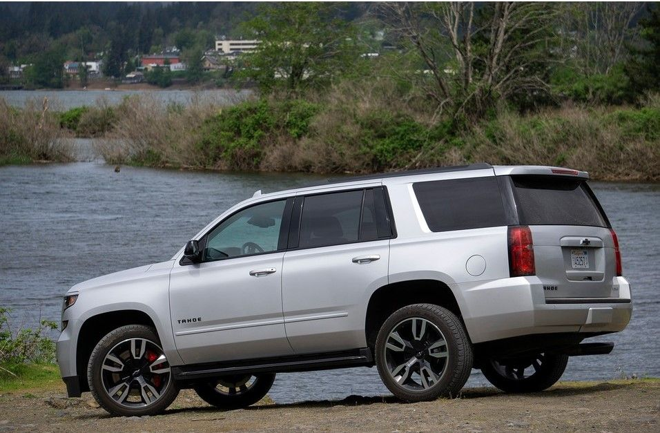 2020 Chevrolet Tahoe Rear View