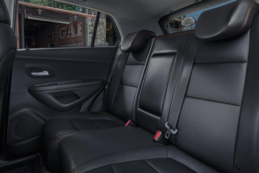 2020 Chevrolet Trax rear seat