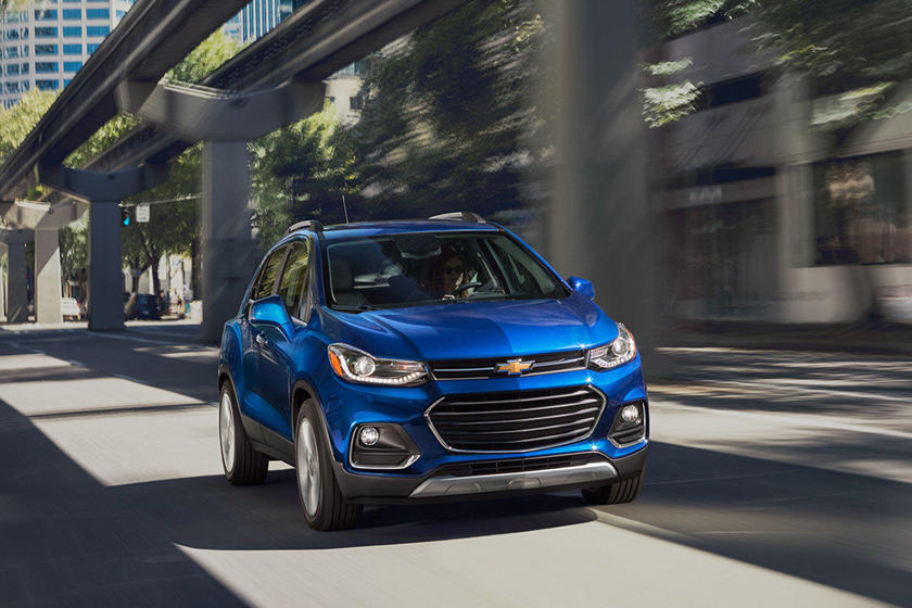 2020 Chevrolet Trax front