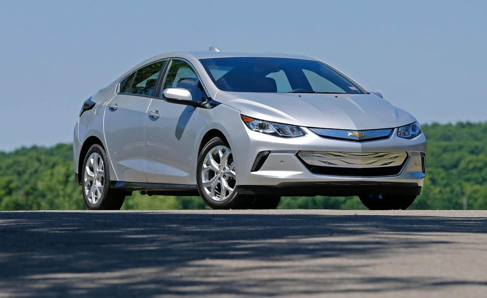 2020 Chevrolet Volt three quarter view