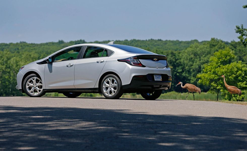 2020 Chevrolet Volt side view