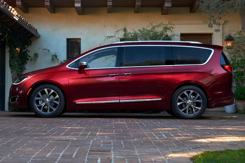 2020 Chrysler Pacifica Side View