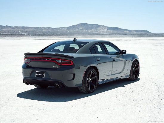 2020 Dodge Charger R/T Rear Three-Quarter View