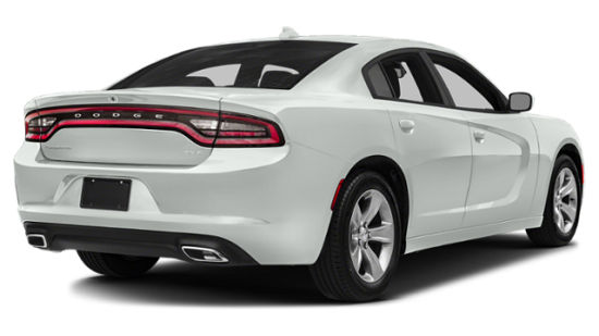 2019 Dodge Charger Rear Three-Quarter View