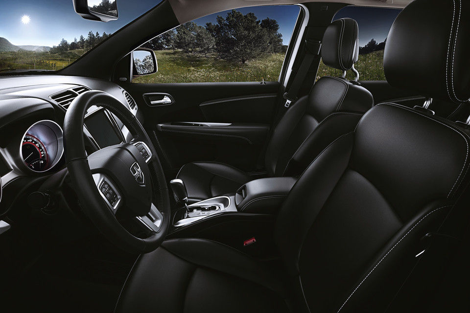 dodge journey front seating