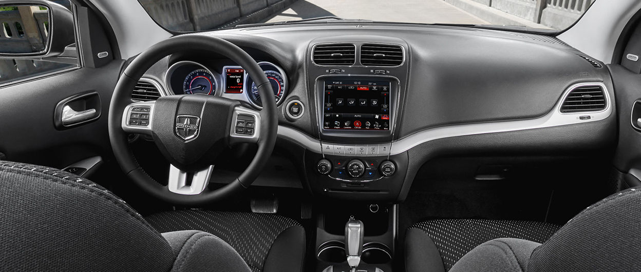 dodge journey interior view